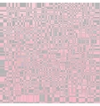 Checkered tablecloths pattern endlessly - pink vector image