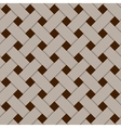 Geometric woven texture - seamless vector image vector image