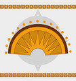 maya calendar design vector image vector image
