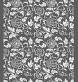 seamless chinese ornament pattern vector image vector image