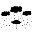 umbrella vector image