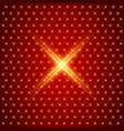 x symbol pattern electric laser technology vector image vector image