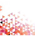 abstract geometric polygonal mosaic background vector image vector image