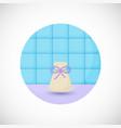 aromatherapy sachet bottle flat icon vector image vector image