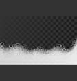bath foam concept background realistic style vector image vector image