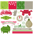 Design Elements - Vintage Merry Christmas
