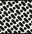 diagonal stripes pattern with dots vector image vector image
