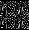 fine lines on a black background abstract vector image vector image