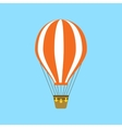 Hot air balloon icon vector image vector image