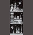 london city gradient 10 vector image vector image