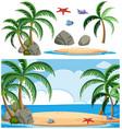 set island element vector image vector image
