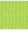 Think about earth seamless pattern background vector image