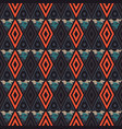triangular funky seamless pattern vector image