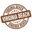 virginia beach vector image vector image
