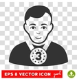 3rd Prizer Sportsman EPS Icon vector image vector image