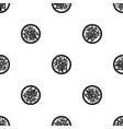 asian salad pattern seamless black vector image vector image