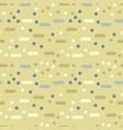 minimal dots abstract seamless pattern vector image vector image