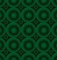seamless pattern of green circles halfton vector image
