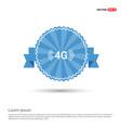 4g icon vector image vector image