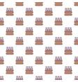 bottles of milk pattern seamless vector image vector image