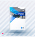 design of business template brochure vector image vector image