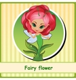 Fairy flower - hand-drawn vector image