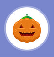 halloween pumpkin icon sign symbol vector image