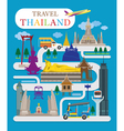 Travel Thailand Flat Design