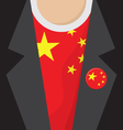 China T-Shirt vector image