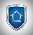 Home security vector image