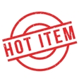 Hot Item rubber stamp