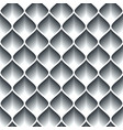 monochrome geometric abstract seamless pattern vector image vector image