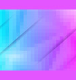 purple blue grid mosaic background creative vector image vector image