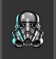 storm trooper vector image vector image