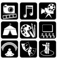 icons art vector image
