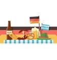 Oktoberfest celebration or banner vector image