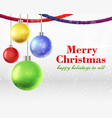 abstract christmas background concept vector image