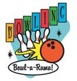 Bowling vector image