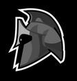 greek helmet vector image vector image