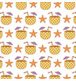 summer time pattern vector image vector image