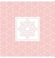 Zentangle Yoga Studio Design Card vector image vector image