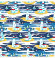 colorful bright seamless pattern with vector image vector image