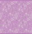 pink repeat pattern with variety tiny vector image vector image