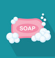 soap flat icon vector image