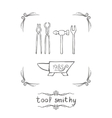 Tool Smithy Two vector image vector image