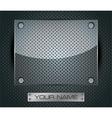 Glass Round Fiber Advertising Background 04 vector image