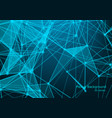 abstract polygonal background geometrical vector image vector image