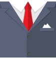 buisness mans suit bg vector image vector image