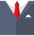 business mans suit bg vector image