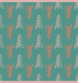 green herringbone tree seamless repeat pattern vector image vector image